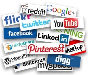 Sociale media steeds belangrijker