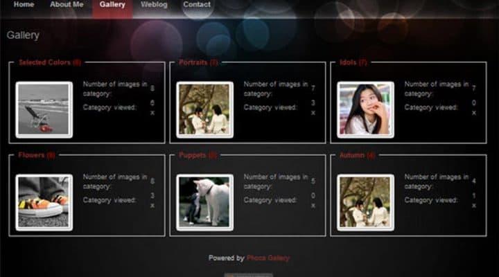 Fotoalbums aanmaken en vullen in Phoca Gallery