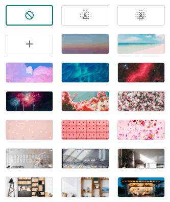 achtergrond wijzigen in google meet